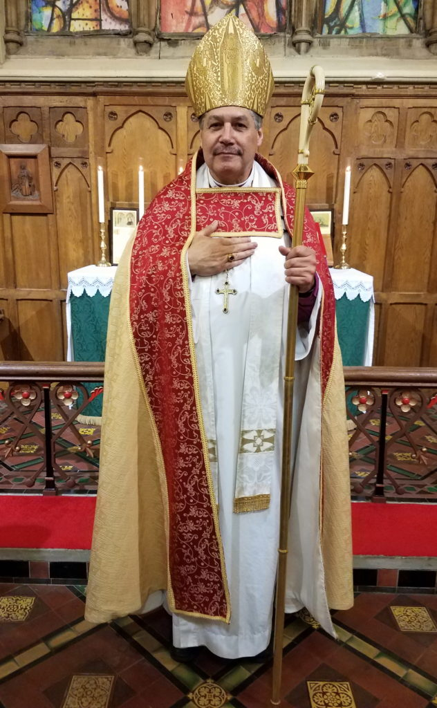 The Most Reverend Archbishop Shane B. Janzen, Primate of the Traditional Anglican Communion